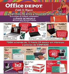 Folleto Office Depot mayo 2013