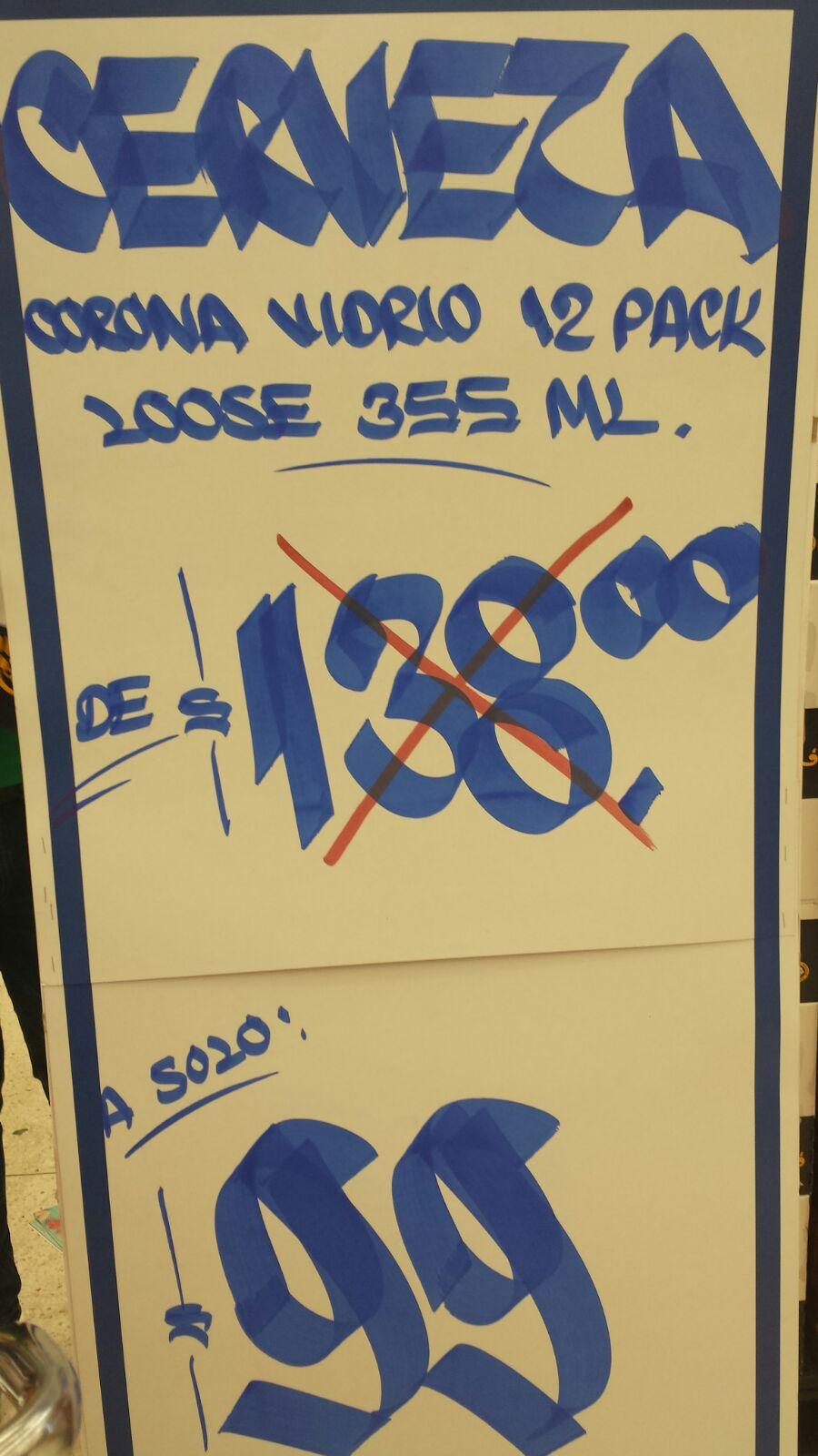 Chedraui: oferta de Cerveza Corona 355ml 12 Pack a $99