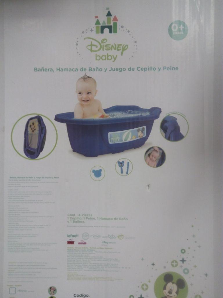 Walmart: Liquidación de set de bañera, hamaca, cepillo y peine de $498 a $60.01 y más