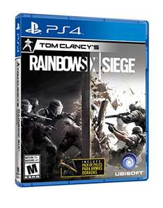 Amazon MX: Rainbow Six Siege (PS4) ~> $611 pagando con VISA