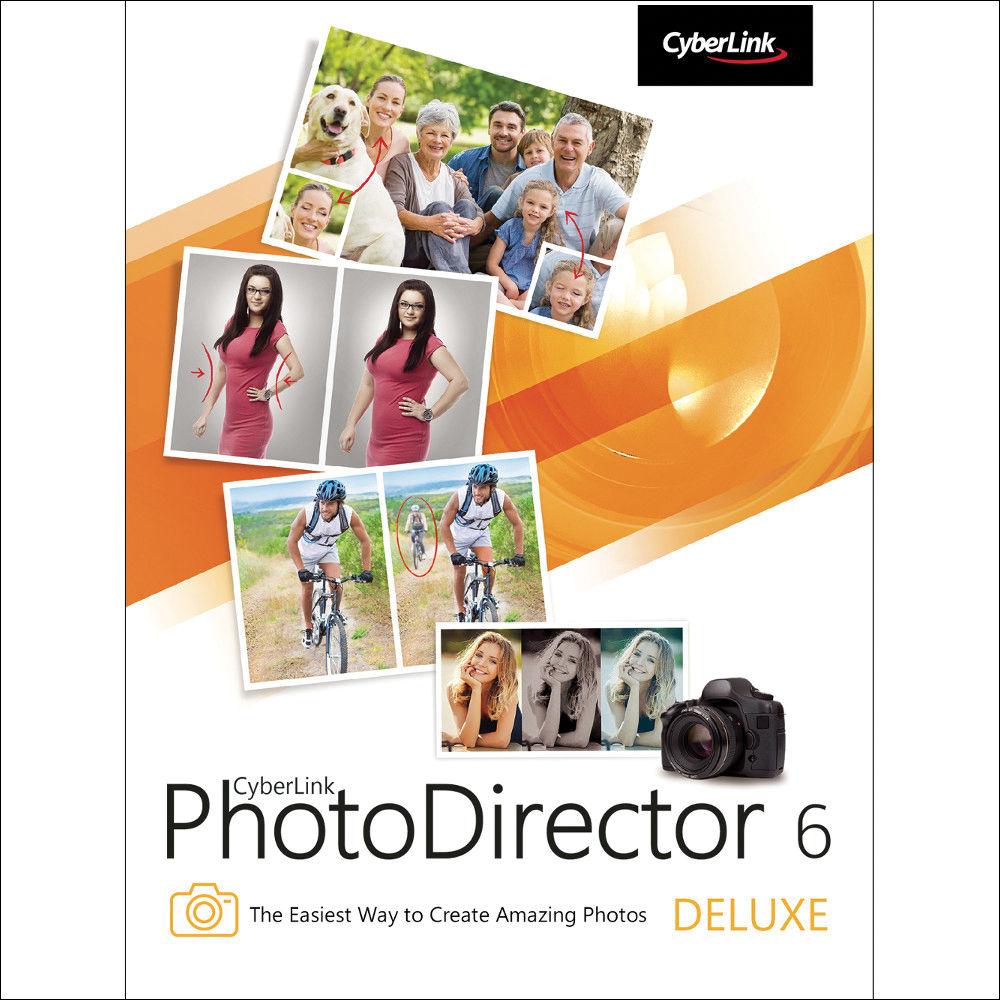 CyberLink PhotoDirector 6 Deluxe (Descarga Gratuita)