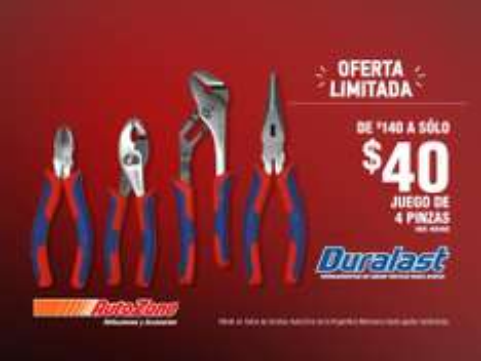 Autozone: remate de herramientas (válido en toda la Republica Mexicana)