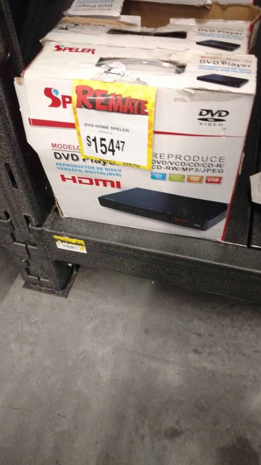 Bodega Aurrerá: reproductor DVD Speler a $154