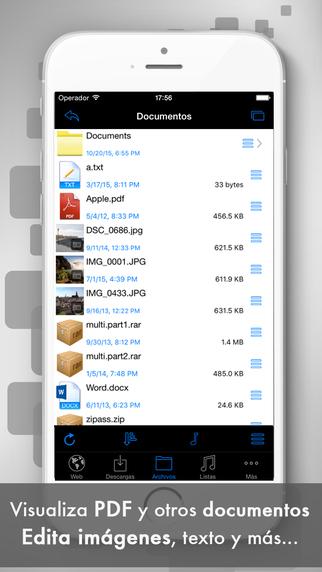 DESCARGAS: Gestor de Descargas Iphone App del día Gratis