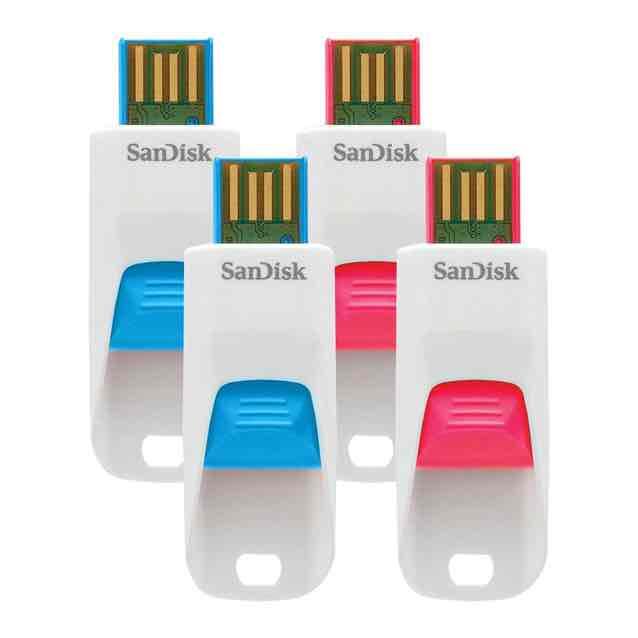 Sam's Club: paquete de 4 memorias de 16 gb SanDisk en$ 285