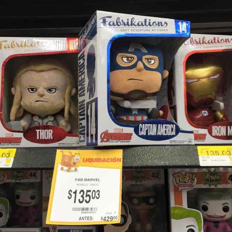 Walmart: Fabrikations de Funko Avengers y Tortugas Ninja de $495 a $135