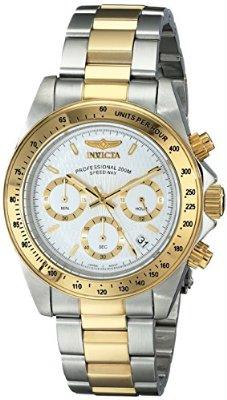 Amazon: Invicta 9212 Speedway – Reloj de acero inoxidable con baño de oro de 18 quilates a $1,014 con cupón VISAMX10 y envio gratis
