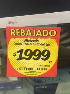 HEB: Nintendo 3DS XL a $1,999