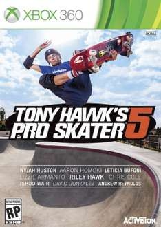 Amazon USA: Tony Hawk's Pro Skater 5 para Xbox 360 a $161.84