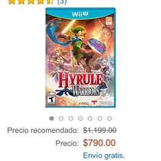 Amazon MX: Hyrule Warriors para WiiU