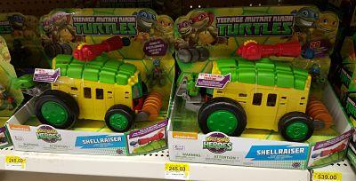 Walmart Tlahuac: TMNT Shellraiser a $245.03
