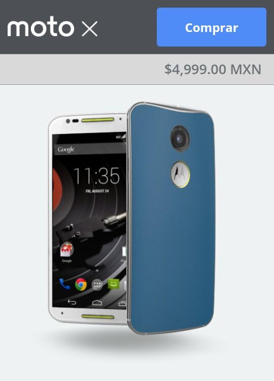 Motorola tienda en línea: Moto X 2ª Motomaker