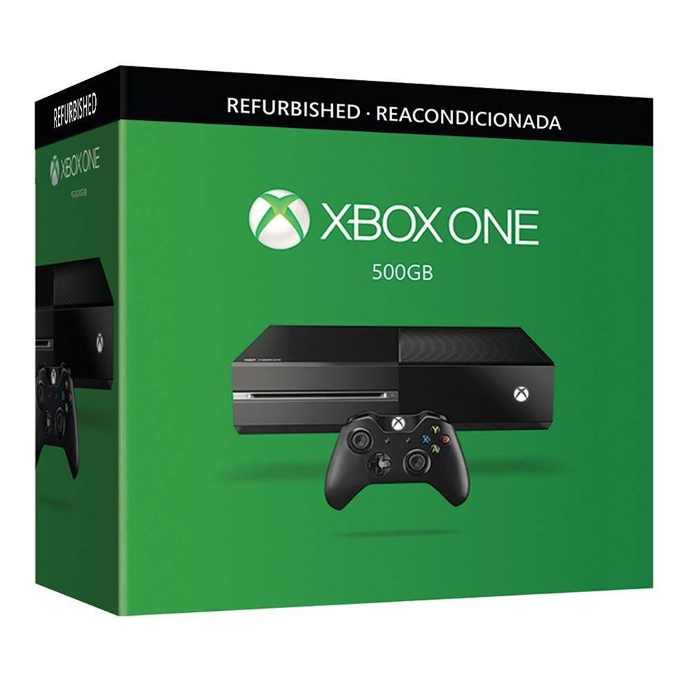 Linio: Xbox One reacondicionado 500Gb a $4,999