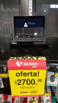 Soriana: Notebook Acer V3 ( i3/ 750 HD/ 6 de ram) $2,700 y AIO Gateway ZX4250 $2,490