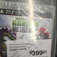 Sam's Club: Juego de Plantas vs Zombies para PlayStation 3 de $399.01 a $199