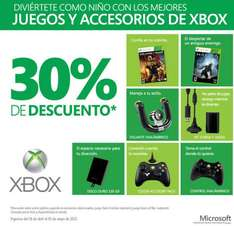 Halo 4 o Gears of War Judgement $699 y 30% de descuento en accesorios