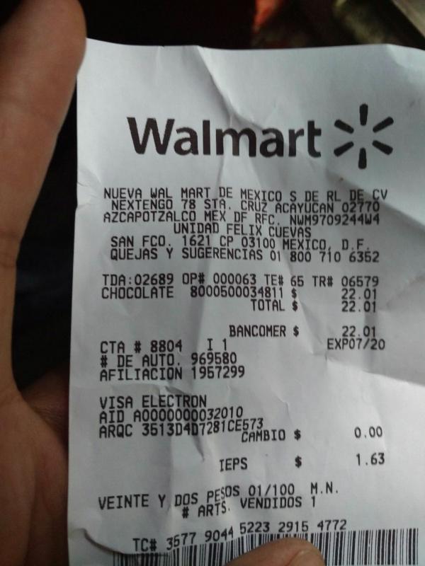 Walmart: Kinder delice con 10 piezas a $22.01
