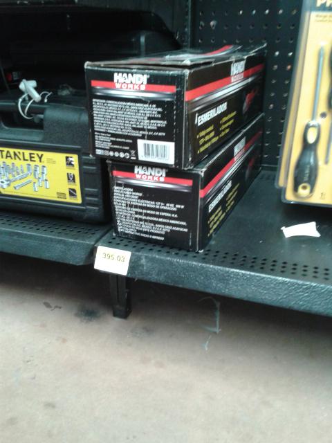 Walmart: Esmerilador Handi a $395.03