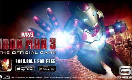 Juego Iron Man 3 para iPhone y Android y más juegos gratis