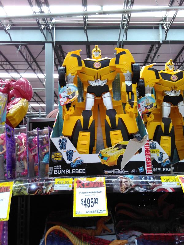 Bodega Aurrerá sta margarita: transformer bumblebee a $495.03