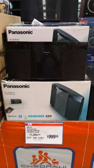 Chedraui: Microcomponente Panasonic SC-HC29PH-K CD MP3 Bluetooth a $995