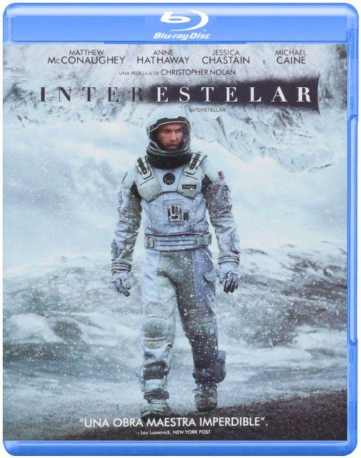 Amazon: Blu Ray + copia digital Interestelar a $99.00