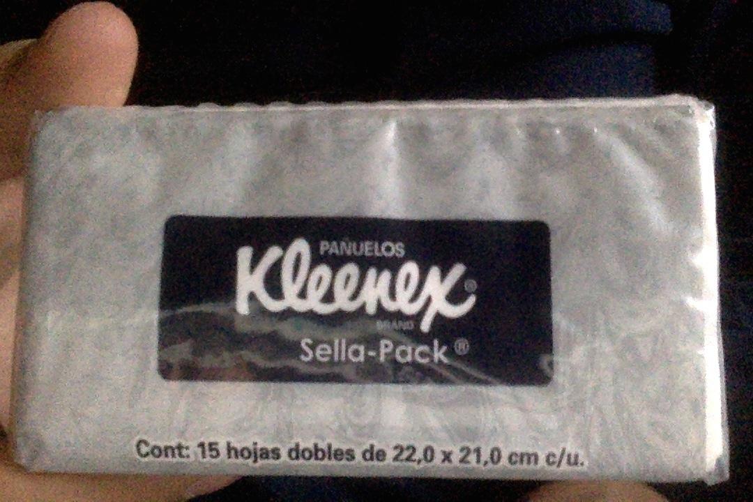 Office Depot Parroquia: Pañuelos Kleenex Sella Pack a $2.90