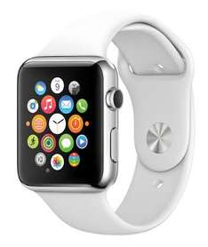 LIVERPOOL: Apple Watch 40% descuento: OJO NO ES LA VERSION SPORT 38 mm blanco, rojo y negro en $6599 y el de 42mm blanco en $7199