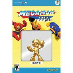 Play-Asia: Megaman Legacy Collection con amiibo dorado a $1,095