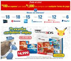 Best Buy en línea: Preventa New 3DS Pokemon 20 aniversario exclusivo online