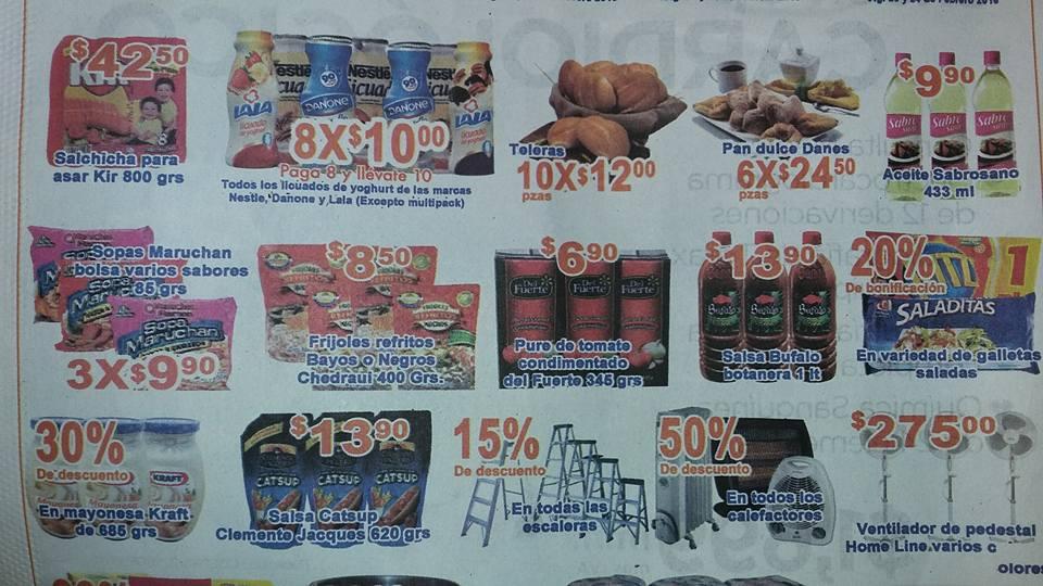 Chedraui Nuevo Laredo: 8 yogurts por 10 pesos