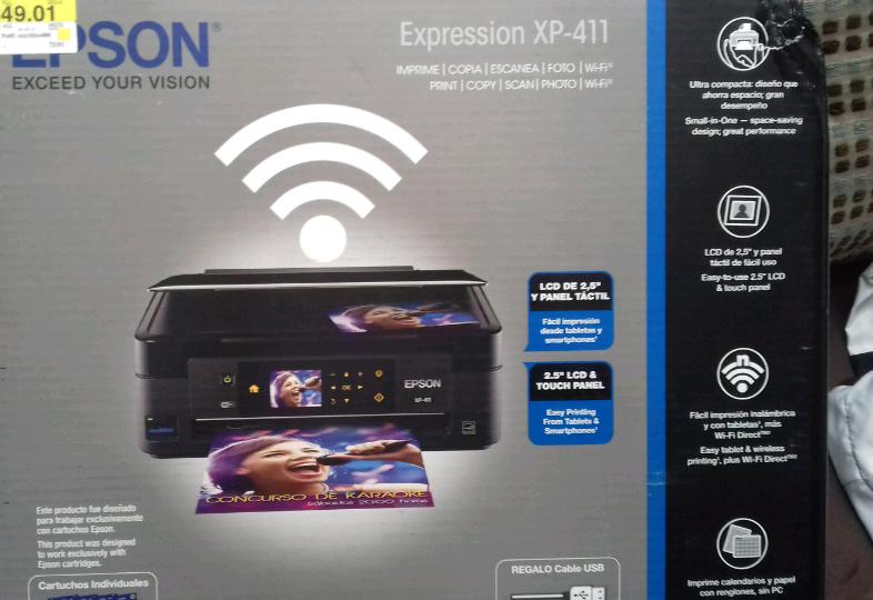 Bodega Aurrerá: multifuncional EPSON XP-411 a $849.01