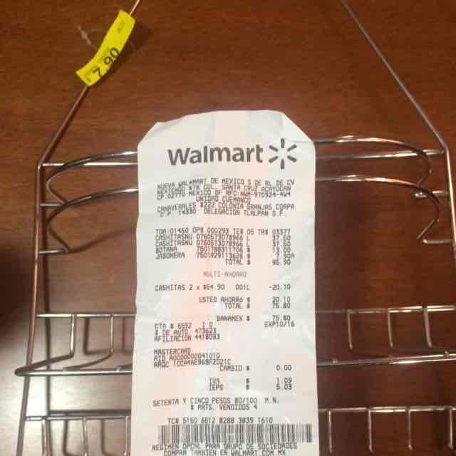 Walmart: accesorio para baño a $7.90