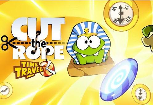 Cut the Rope Time Travel gratis en Google Play (y más juegos)