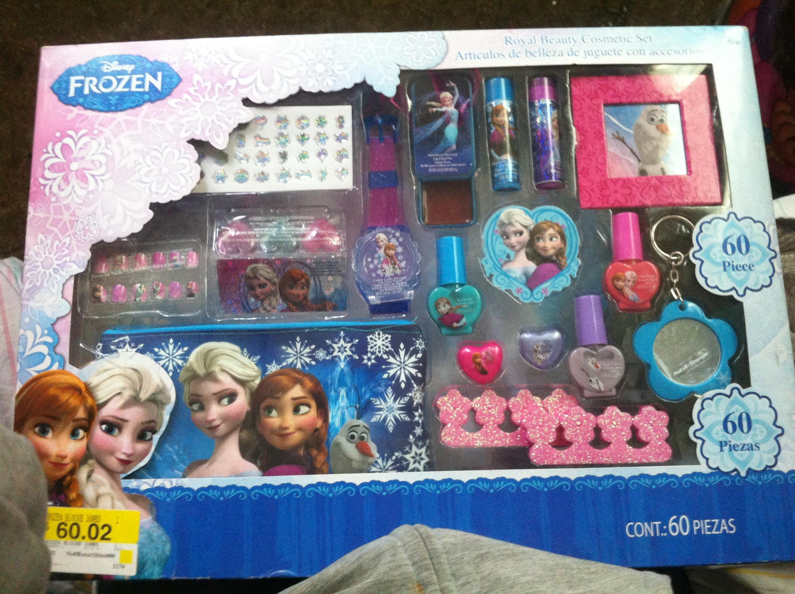 Bodega Aurrerá: Kit de belleza para niña Frozen a $60