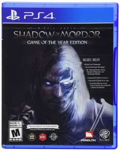 Amazon MX: Shadow of Mordor Game Of The Year Edition para PS4 a $349