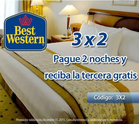 Best Western: tercera noche gratis y más