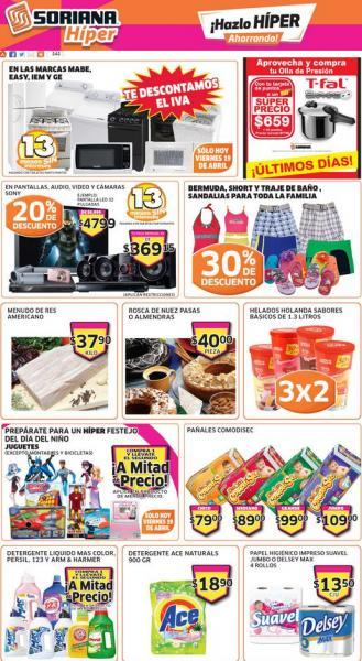 Soriana Híper: ofertas en juguetes, electrodomésticos, marca Sony y más