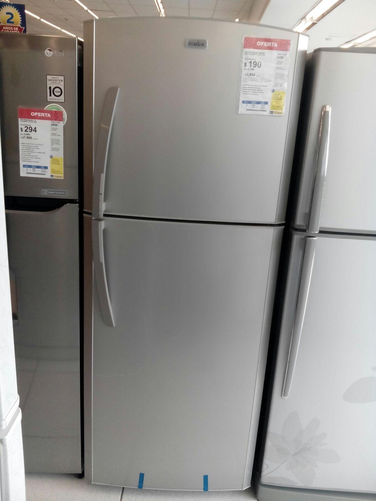 Coppel Villahermosa: refrigerador Mabe de 14 pies a $3,850