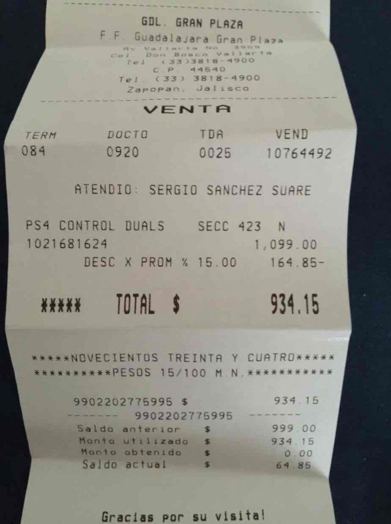 Fábricas de Francia: control Dualshock 4 para Playstation 4 a $934