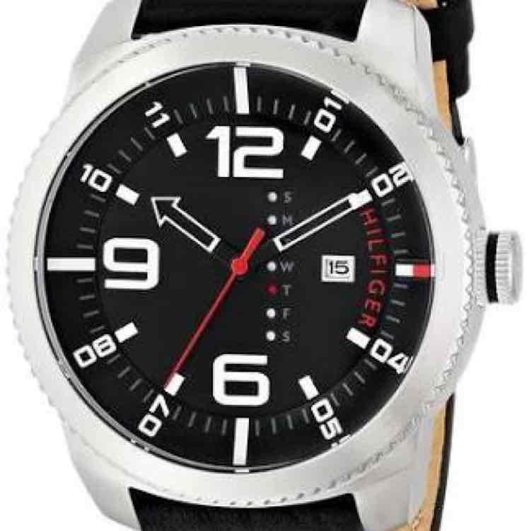 Amazon MX: Tommy Hilfiger 1791014 reloj análogo de cuarzo para hombre correa de cuero color negro a $888