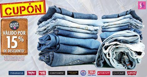 Suburbia: Cupón 15% de Descuento en Jeans