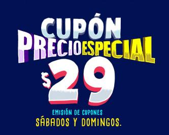 Cinépolis: cupón de entrada a $29 de lunes a viernes (por cada boleto comprado el sábado o domingo)