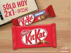 Oxxo: 2x1 en chocolates Kit Kat