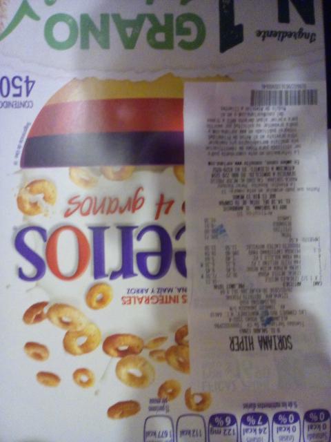 Sorina Hyper Cereales Nestle 2x1.5 Cherrios 2 x 52