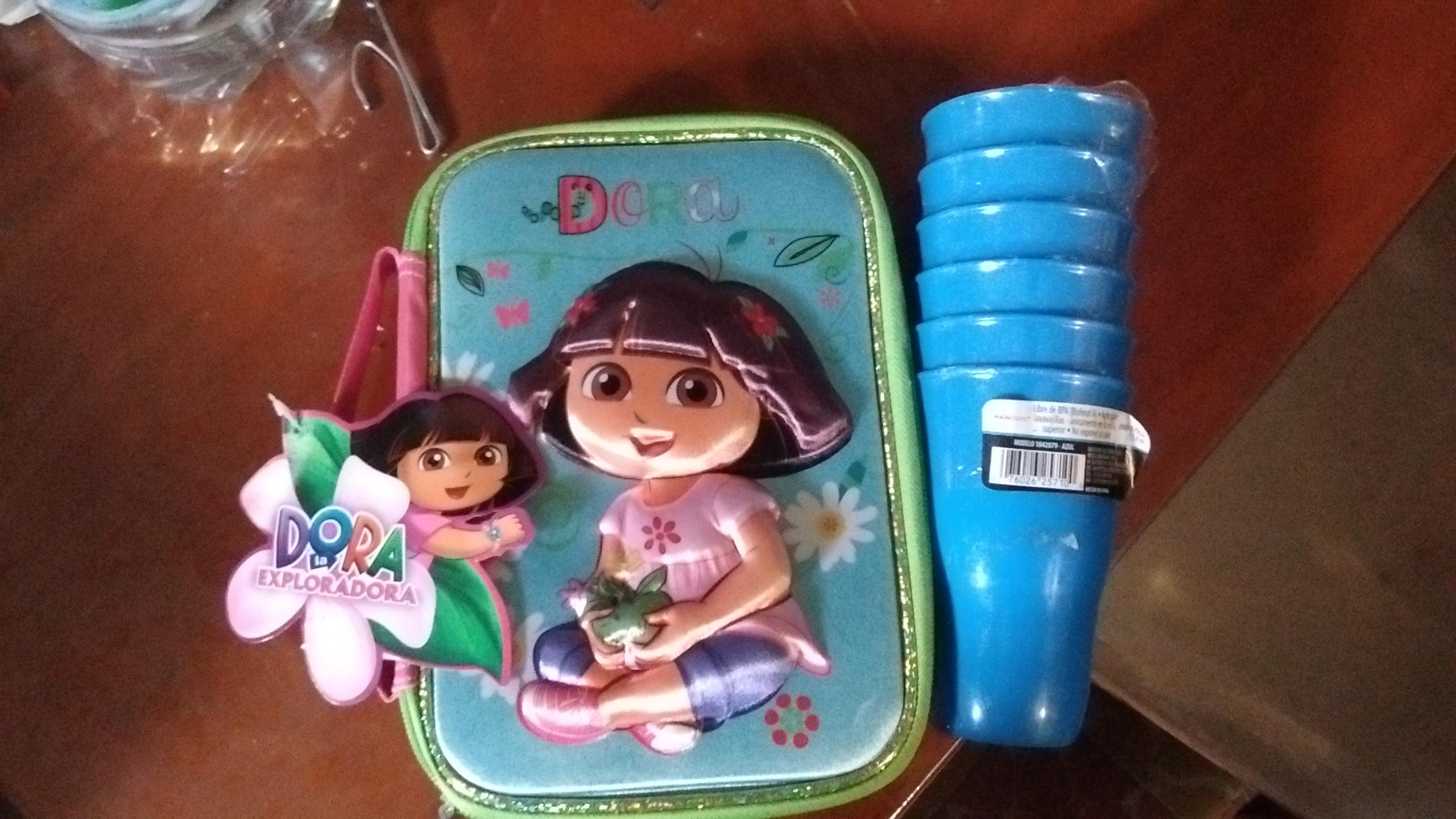 Walmart: 6 vasos a $1.01, lapicera de Dora a $10.01 y más