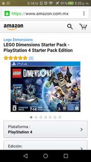Amazon: LEGO dimensions starter pack a $1,367