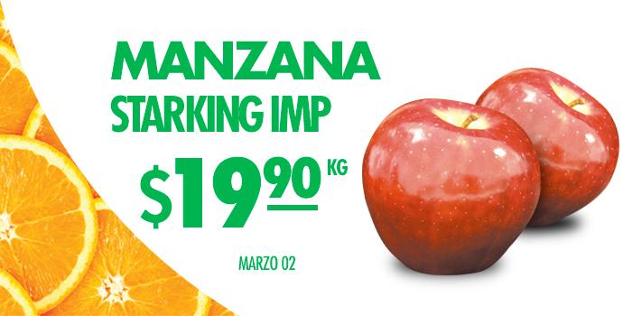 Hoy es Miércoles en Comercial Mexicana marzo 2: Manzana Starking importada a $19.90 el kilo y más