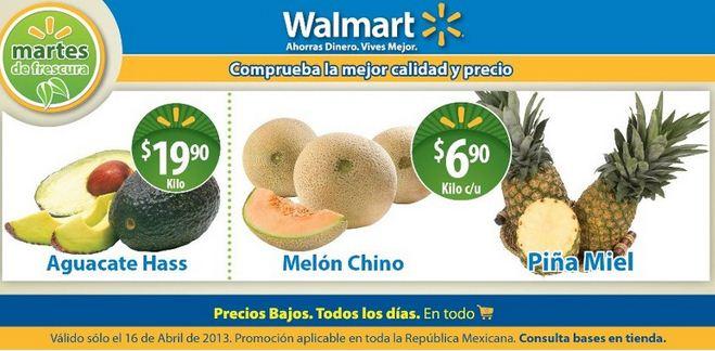 Martes de frescura en Walmart abril 16: melón $6.90 y más