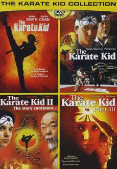 Amazon: tetralogía Karate Kid en DVD 4 dólares